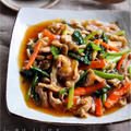 ♡ごはんがすすむ♡豚肉と野菜のあんかけ風♡【#簡単レシピ#時短#節約】