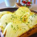 春たまねぎのマヨネーズトースト♪