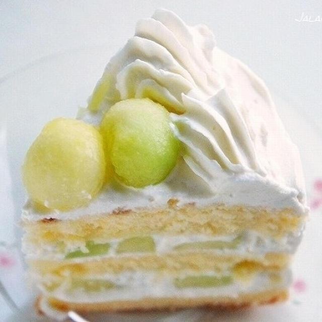 悶絶のメロンケーキ♪ お店に負けないケーキが作れるレシピ