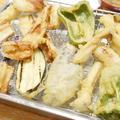 【レシピ】炭酸水+てんぷら粉で気軽に「野菜天ぷら」。家族の一押しは?