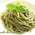 マクロビ&グルテンフリーのジェノベーゼマロニー《おうちで簡単に作れる 乾物イタリアンレシピ》