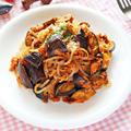 ツナとなすのしらたきミートスパゲティ風【簡単超低カロリーなダイエットパスタ】|レシピ・作り方