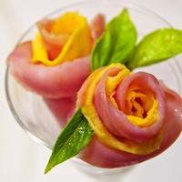 ハムと卵で薔薇♡ お花見 お弁当やキャラ弁・運動会にも♪