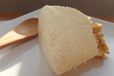 大好評のレアチーズケーキ(*^^*)