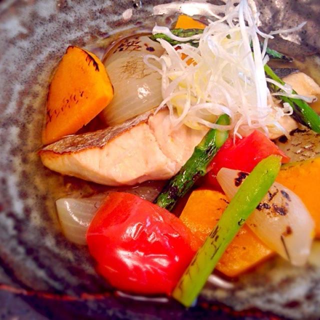 創作!焼き魚しっとり調理法
