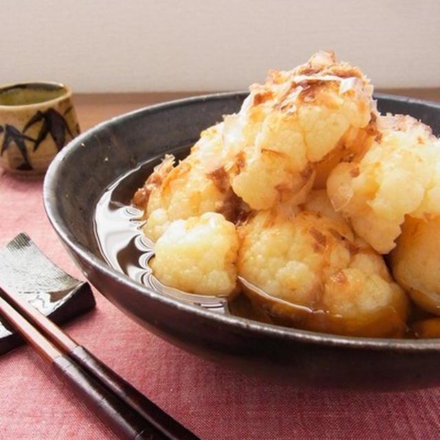 カリフラワーの一番好きな食べ方♪ お出汁のしみたほろほろの土佐煮