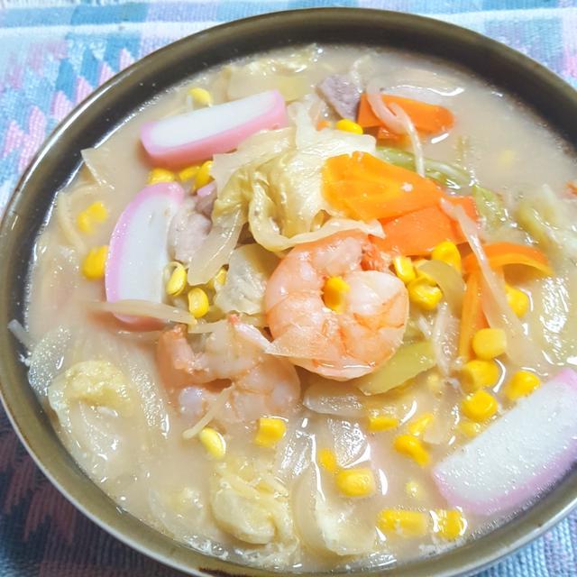 スープ 作り方 ちゃんぽん
