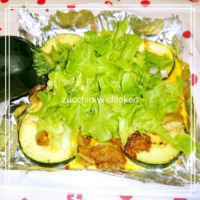 【変身Recipe☆ケンタ:ズッキーニ&チキン サラダ】お盆休みのレシピは夏ランチ特集 7