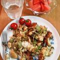 きのこ&ベーコン&モッツァレラのニョッキ ~ ローズマリーの香りをのせて♪ by mayumiたんさん