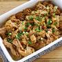 コクうま。豚肉とたまねぎの味噌マヨ炒め