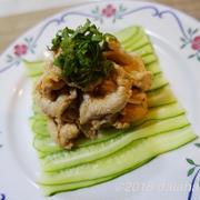 【レシピ】 冷やし豚しゃぶとキュウリの中華風ニンニクソース 瑞々しい食感が夏にぴったり!