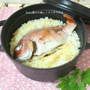 ストウブ鍋de生姜風味の鯛めし
