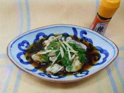 【スパイス大使】 広島産牡蠣のぴり辛漬け