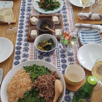 和食のパーティーメニュー