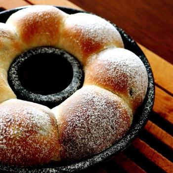 もうちょっと・・豆のちぎりパン&梅子はん♪