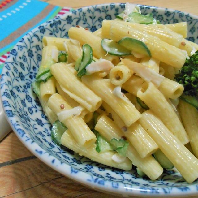 簡単!!昔ながらのマカロニサラダの作り方/レシピ