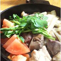 イタリアンすき焼き(鶏すきバージョン)
