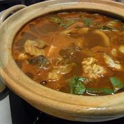 タラと牡蠣の八丁トマト鍋