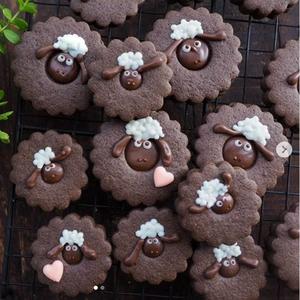 バレンタインの友チョコにも♪ココア生地で作る「#動物クッキー」