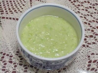 枝豆と長いもの吸い酢