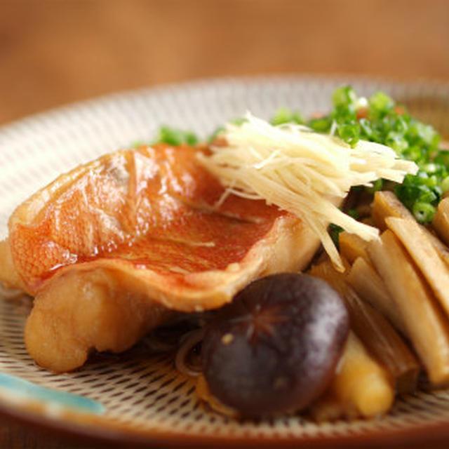 赤魚の煮付け 、 煮魚そば
