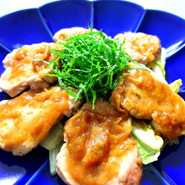 低糖質&低脂質!レンジで簡単!豚ヒレ肉の梅肉蒸し