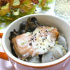 秋鮭と里芋のココット