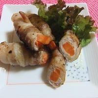 クミン風味の豚肉野菜ロール