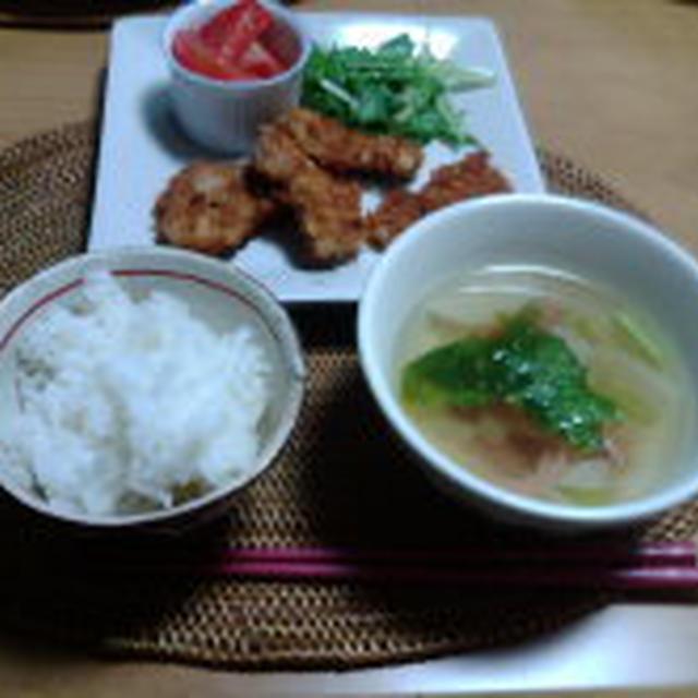 塩麹ドレッシングで☆水菜サラダ