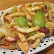 【旨魚料理】ヤリイカのカレー中華丼