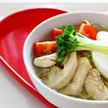 【女子力アップレシピ☆】鶏の冷やし塩ラーメンのレシピ☆