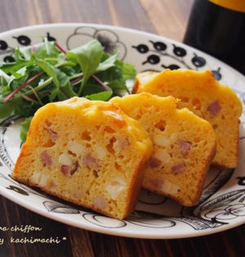 朝ごはんやブランチにぴったり♪甘くない「チーズ入りケークサレ」
