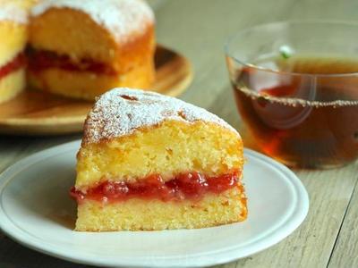 >ずっと作り続けているヴィクトリアサンドイッチケーキのレシピ by ほずみさん