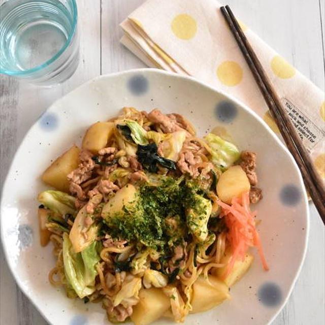 「地元飯」を自宅で再現! みんなのローカルレシピ~栃木県民なら知ってる?「じゃがいも入り焼きそば」~マイナビニュースに掲載
