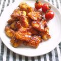 塩麹鶏むね肉の、たれづけ唐揚げ
