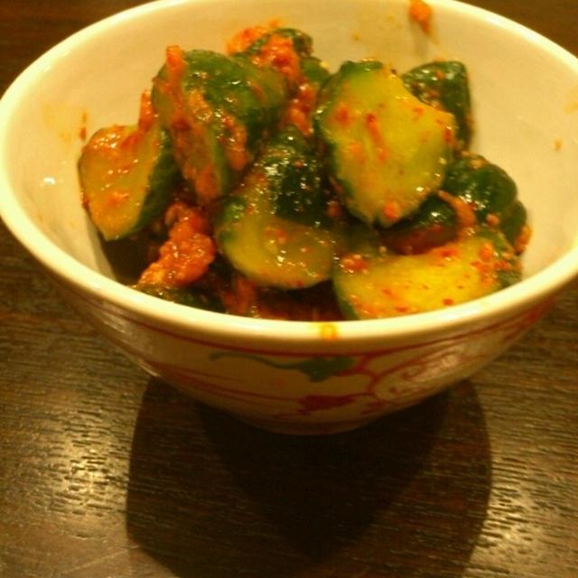 簡単、美味しい☆胡瓜のキムチ