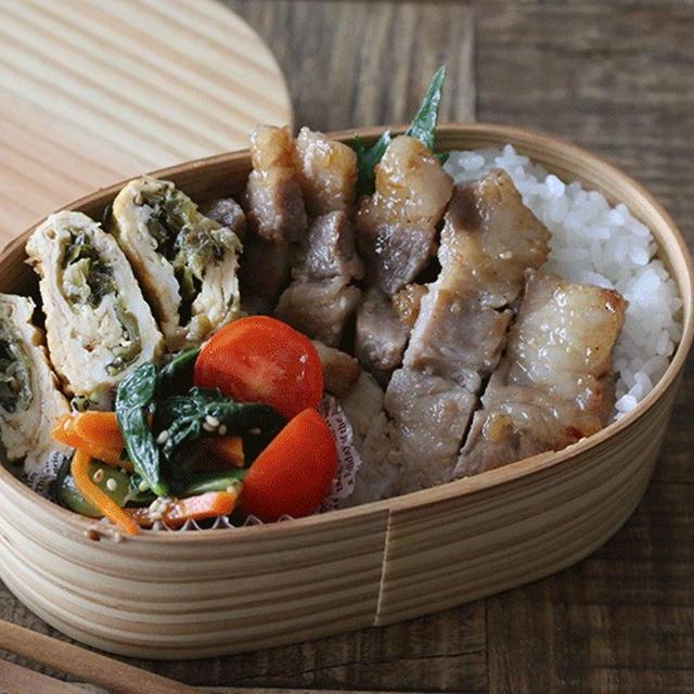 漬け込んで焼くだけ!豚ロース肉の味噌漬け弁当の詰め方も紹介