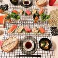 節分にも!手軽で美味しい♪【ゴマ香る☆海鮮手巻き寿司】 by Jacarandaさん