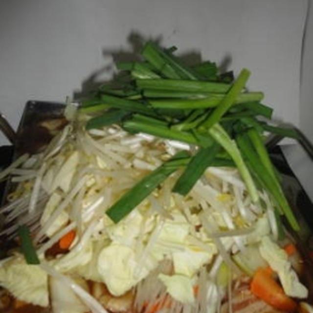 野菜てんこ盛り☆ちりとり鍋