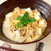 梅風味豆腐丼
