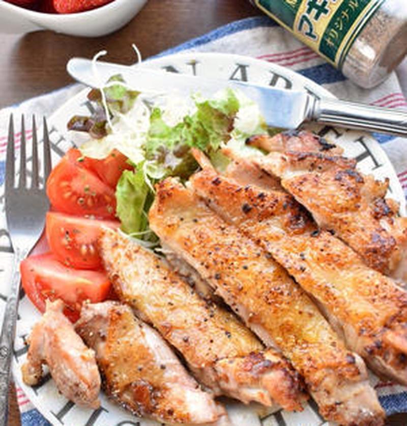 鶏もも肉1枚のぜいたく感♪ジューシー仕上げの「ソテー」レシピ