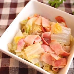 旨みたっぷり♪「白菜×ベーコン」の簡単冬レシピ