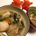 【お手軽けんちん汁】水煮で簡単!野菜たっぷり具だくさん味噌汁/やる気★★★