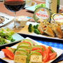 カマンベールチーズとアボカドのカプレーゼでホームパティー~☆☆☆