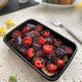 夏野菜なすでバルサミコ酢炒めカポナータ風