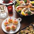 プレジデント カマンベールで、スペイン料理な おうちパーティー♪