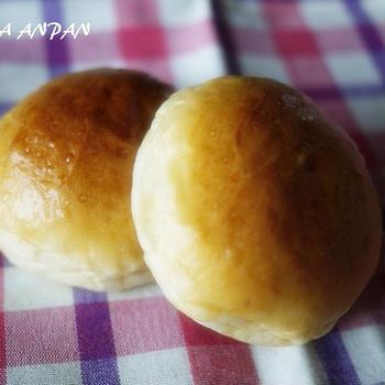 季節の終わりに桜あんパン