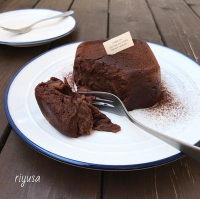 【材料3つで作れるおやつ】ミルクチョコ餅ケーキ