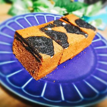 オレオを味わうココアパウンドケーキのレシピ