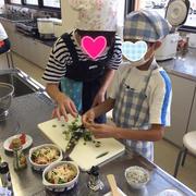 本巣市で親子料理教室♡昨夜のおがせ池夏祭り*光るソーダ